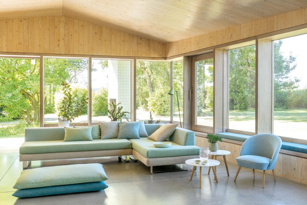 FibreGuard fabrics in healthcare interior design - Colourwash