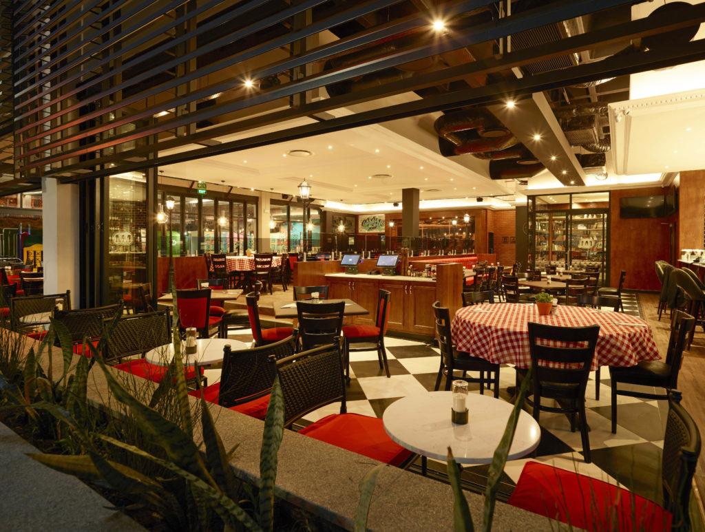 Mk Salt Rock Restaurant Interior