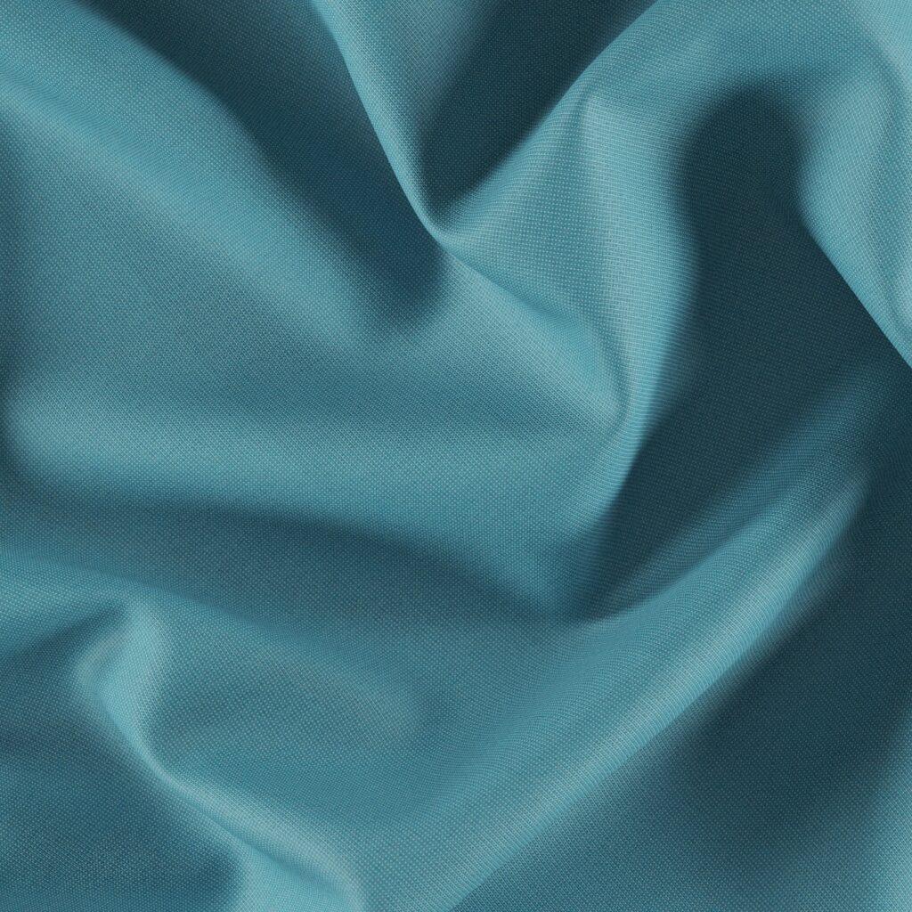 fibreguard outdoor fabric in aqua colour