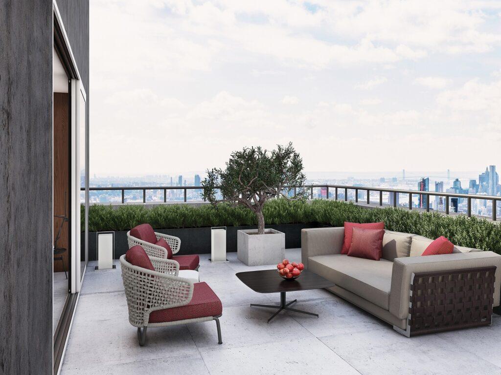 Fibreguard outdoor seating