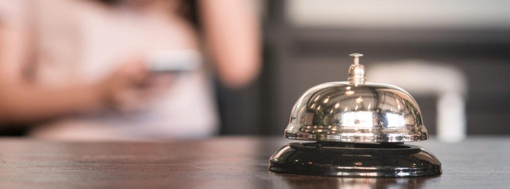 Glamorous hotel interiors bell shot